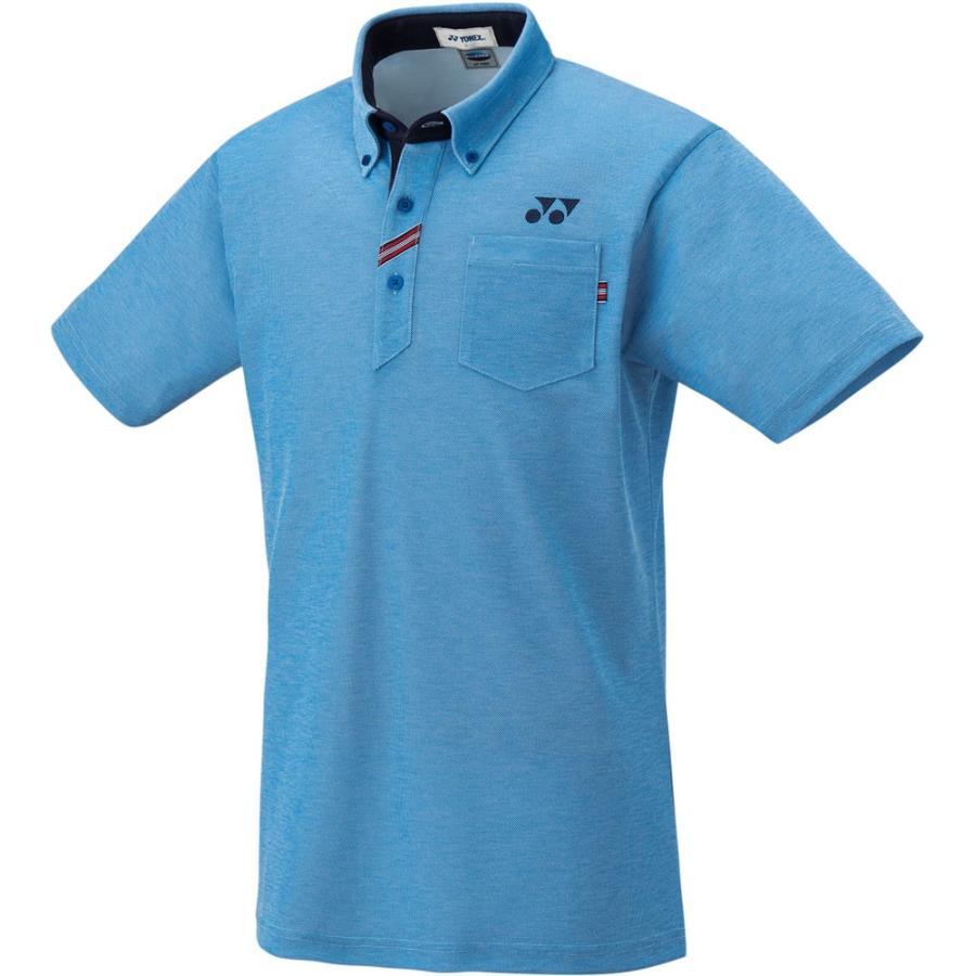 Yonex ヨネックス 男女兼用 テニスウェア ユニポロシャツ 10255 ブルー