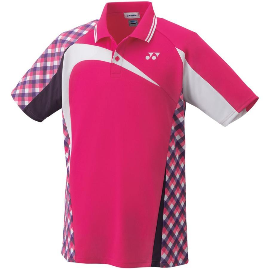 Yonex ヨネックス ゲームシャツ メンズ 10268 ベリーピンク