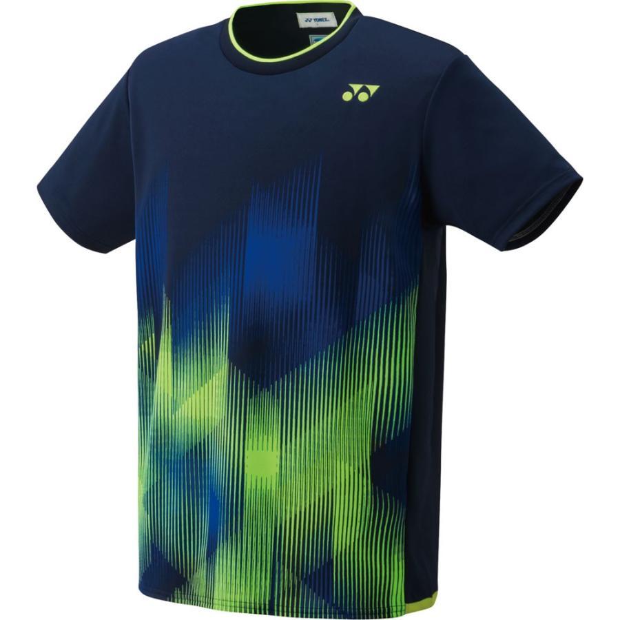 Yonex ヨネックス ゲームシャツ(フィットスタイル) ユニセックス 10321 ネイビーブルー