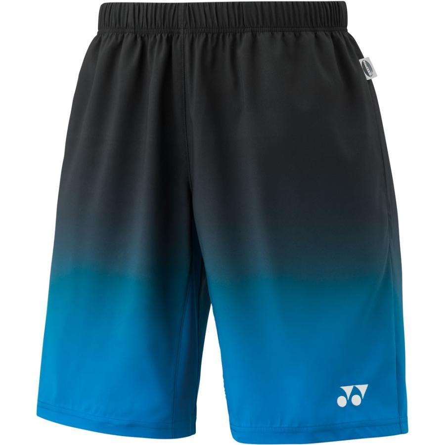 Yonex ヨネックス ハーフパンツ メンズ テニスウェア 15067 ブラック/ブルー