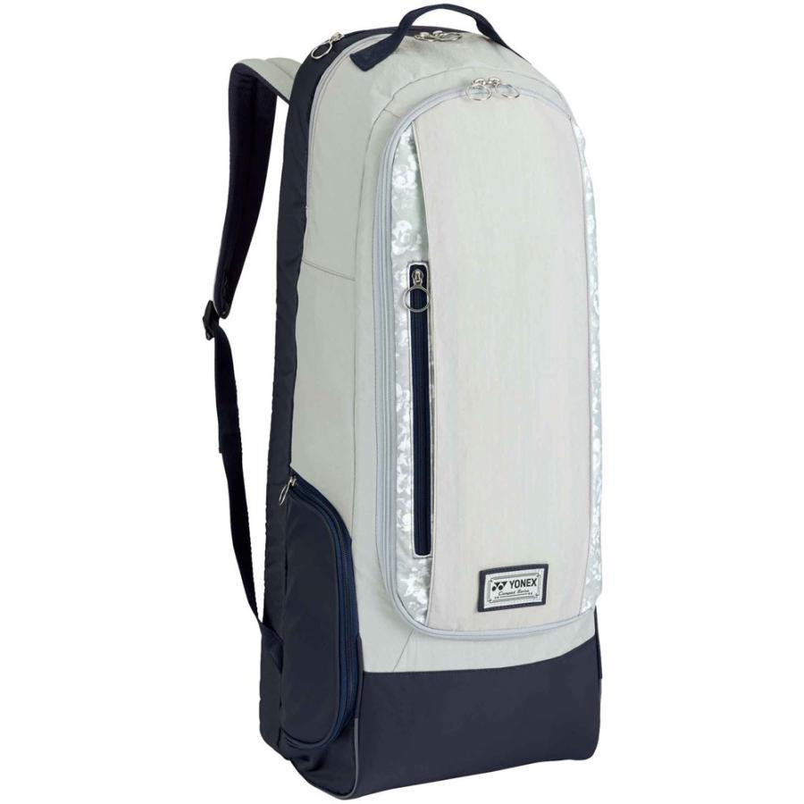 Yonex ヨネックス ラケットバッグ ラケットリュック(ラケット2本用) BAG1869 ライトグレ-