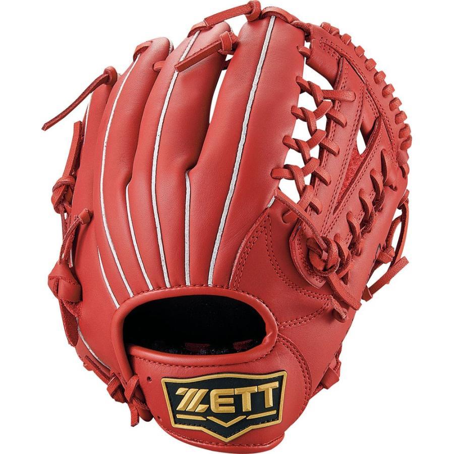 ZETT ゼット 野球 少年 軟式グラブ オールラウンド用 グランドヒーロー BJGB72940 レッド