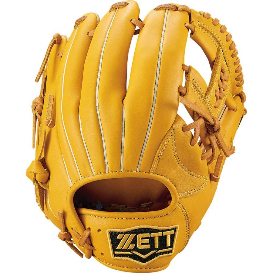 ZETT ゼット 野球 軟式グラブ オールラウンド用 ソフトステア BRGB35910 オークブラウン
