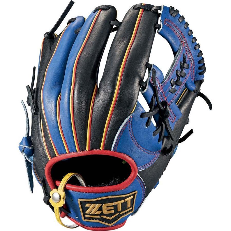 ZETT ゼット ソフトグラブ リアライズ オールラウンド BSGB52810 ブルー/ブラック