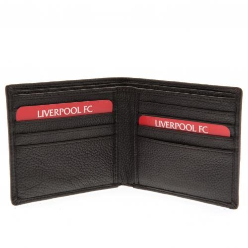 Brown Leather Wallet Liverpool F.C