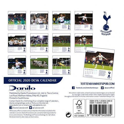 Tottenham Hotspur Fc Calendar 2020