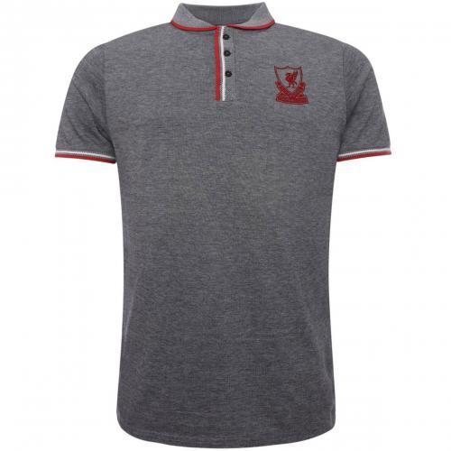 Liverpool F.C. Birdseye Polo Shirt Mens L / リヴァプールFCバーズアイポロシャツメンズL