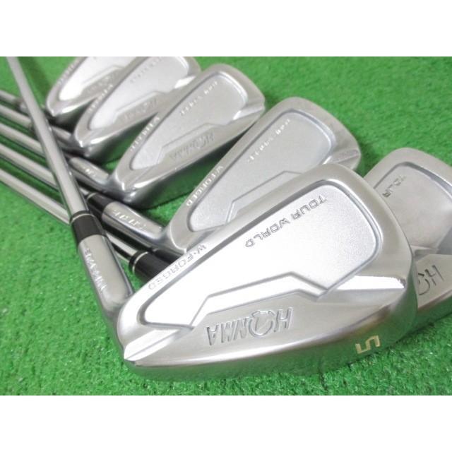 本間ゴルフ ツアーワールド TW737Vs アイアンセット 6本 #5-10 モーダス105(S) N910