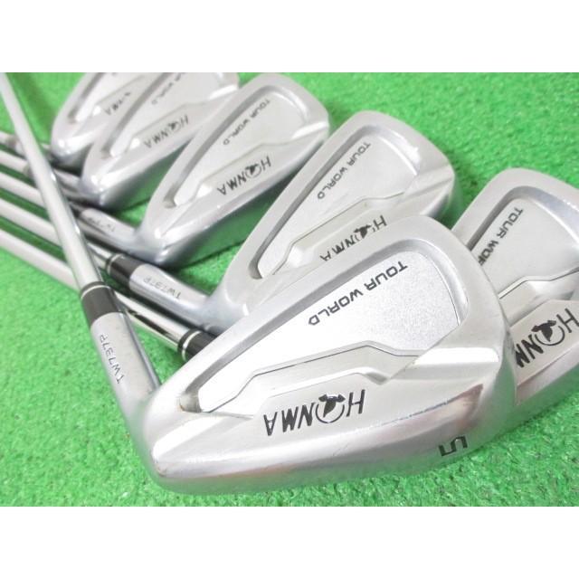 本間ゴルフ ツアーワールド TW737P アイアンセット 6本 #5-10 DG(S200)