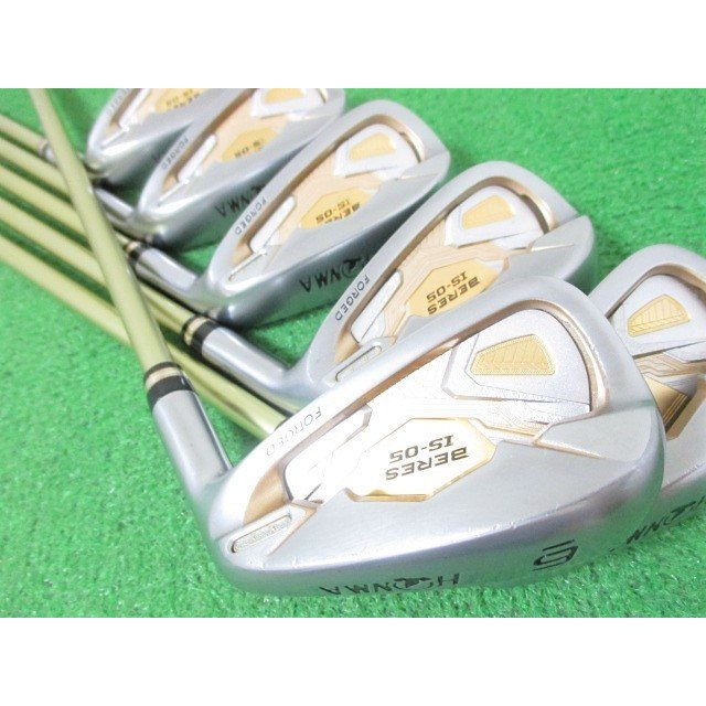 本間ゴルフ ベレス BERES IS-05 2星 2S アイアンセット 6本 #6-11 ARMRQ(R)