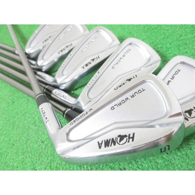 本間ゴルフ ツアーワールド TW727V アイアンセット 6本 #5-10 VIZARD IB95(S)