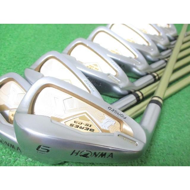 最適な材料 レフティ 本間ゴルフ レフティ ベレス BERES IS-03 IS-03 ARMRQ8 2星 2S アイアンセット 8本 #6-Sw ARMRQ8 49(SR), ユニチョウ:3c470d47 --- airmodconsu.dominiotemporario.com