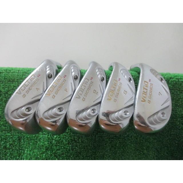 カタナゴルフ VOLTiO Gシリーズ Hi アイアンセット 5本 #7-Aw ツアーAD KT-5(R2)