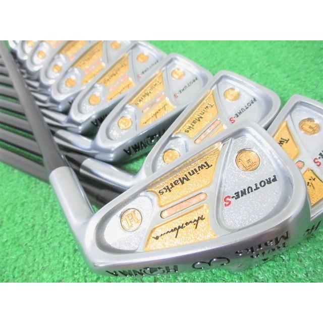 本間ゴルフ ツインマークス プロチューンS 2S 2星 アイアンセット 10本 #3-Sw (S)