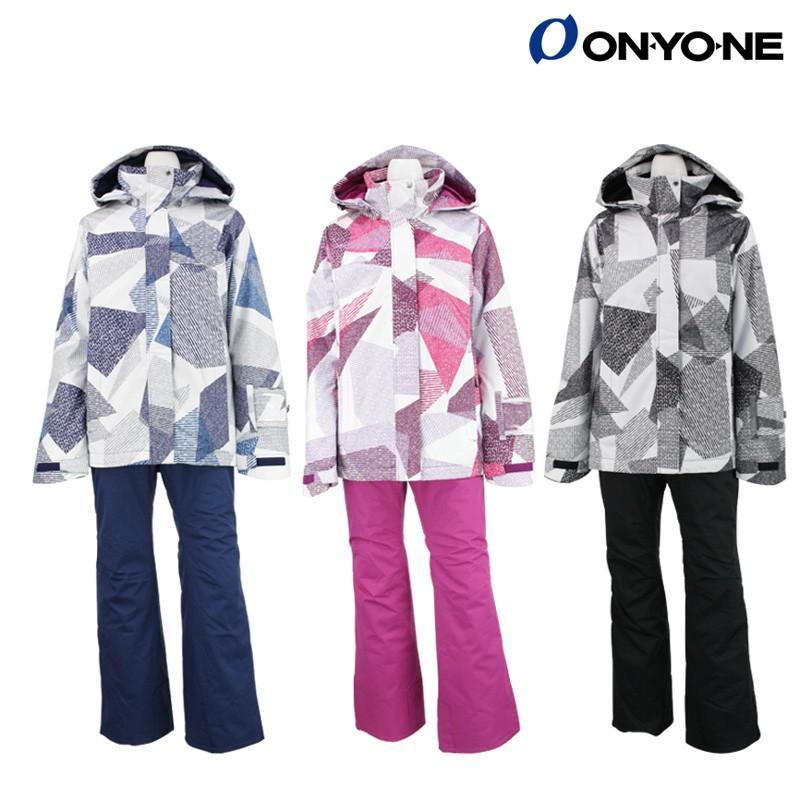 ONYONE(オンヨネ) ONS82530 レディース スキースーツ スキーウェア 上下セット 女性用 耐水圧10000mm