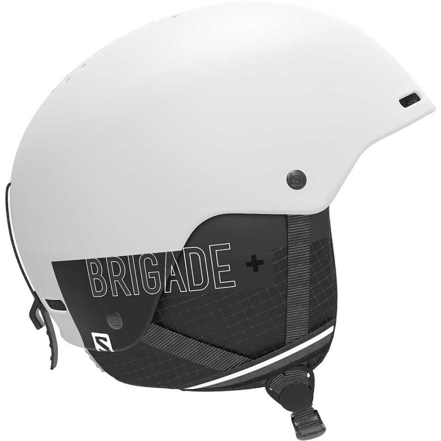 SALOMON(サロモン) L40836200 BRIGADE+ BRIGADE+ メンズ スノーヘルメット バックサイド