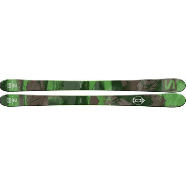 【返品?交換対象商品】 SALOMON(サロモン) L37605200/L37664100 Q-90+STH2 WTR ブレーキC90付き スキー板+ビンディング, ツキガタムラ d4348093