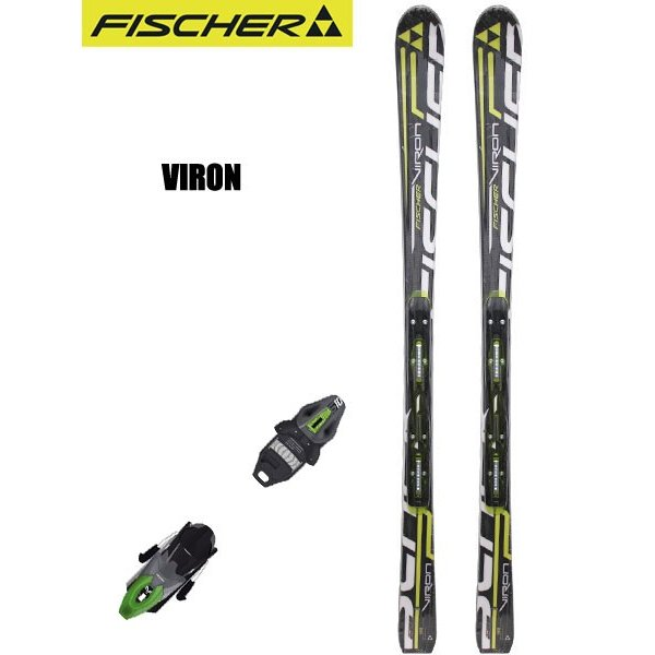 FISCHER(フィッシャー) A406121/T13712 VIRON + RS10 POWER RAIL スキー板 金具付き