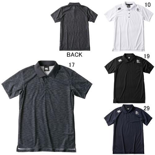 半袖 ポロシャツ メンズ カンタベリー CANTERBURY ショートスリーブ ワークアウト ポロ ラグビー トレーニング スポーツ カジュアル ウェア /RP39023 セール