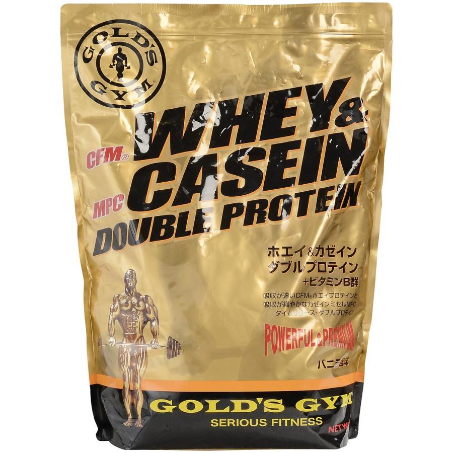 GOLD'S GYM ゴールドジム ホエイ&カゼイン ダブルプロテイン 2000G F7160 サプリメント 送料無料