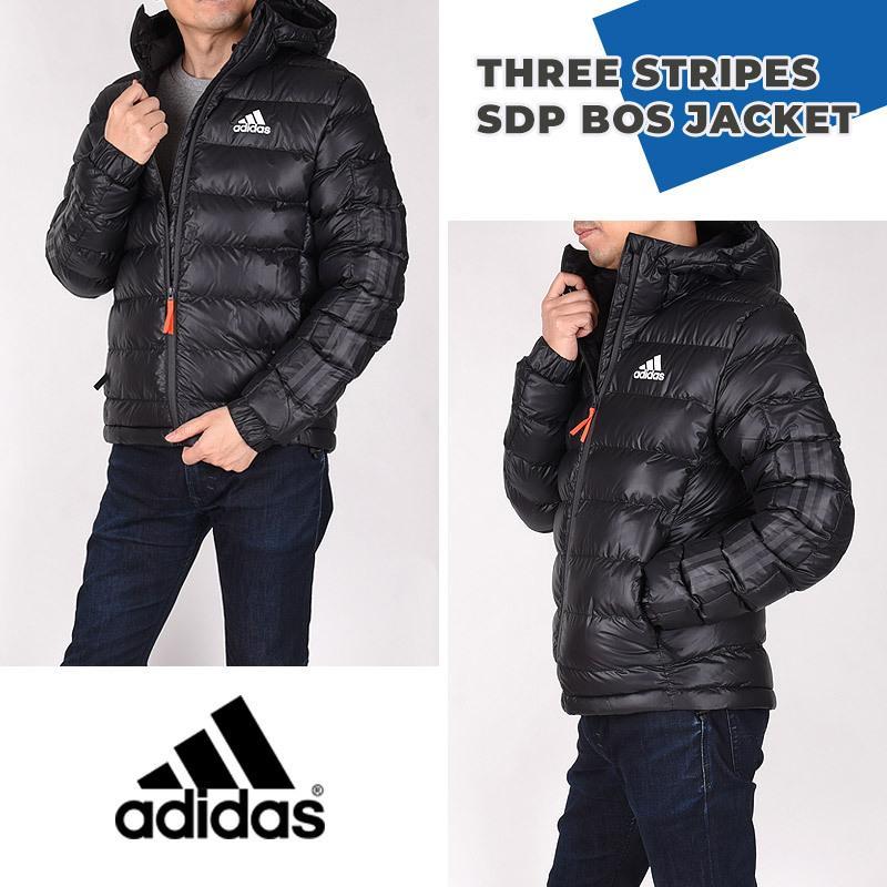 アディダス adidas メンズ ジャケット カジュアル ファッション スポーツ スリーストライプス SDP BOS ジャケット FI2760 ブラック sportsivy 02