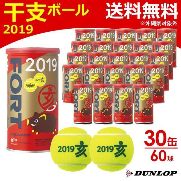 価格は安く DUNLOP [2個入] ダンロップ FORT フォート 干支ボール 2019年「亥」 テニスボール [2個入] 干支ボール 1箱 30缶/60球 テニスボール 『即日出荷』, ポッシュシゴーニュ:4c193922 --- airmodconsu.dominiotemporario.com