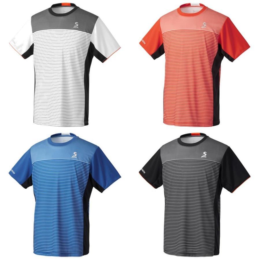 スリクソン SRIXON テニスウェア ユニセックス ゲームシャツ SDP-1903 2019SS[ポスト投函便対応] 『即日出荷』