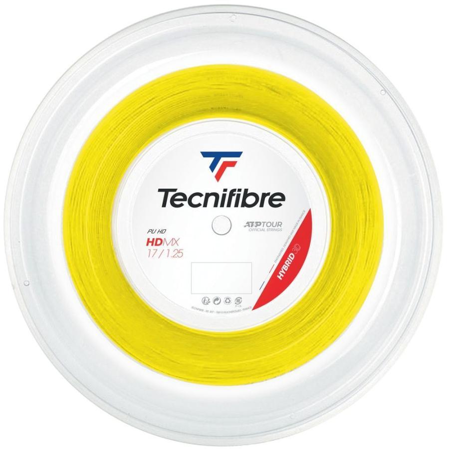 テクニファイバー Tecnifibre テニスガット・ストリング HDMX 1.25mm 200mロール 黄 TFR305