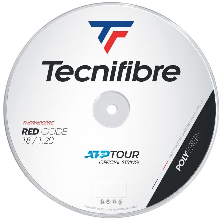テクニファイバー Tecnifibre テニスガット・ストリング REDCODE レッドコード 1.20mm 200mロール TFR415