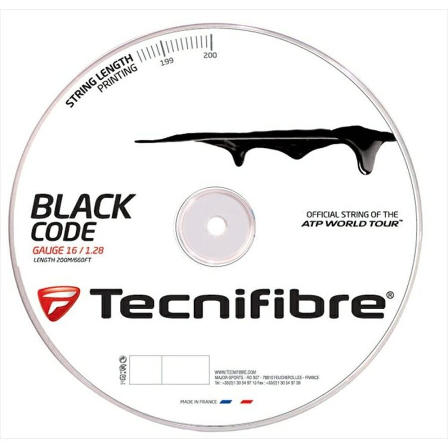 【メーカー再生品】 『即日出荷』 「新パッケージ」Tecnifibre テクニファイバー 「BLACK 200mロール CODE 『即日出荷』 「BLACK ブラックコード 200mロール TFR505」硬式テニスストリング ガット, 笠置町:cfa63024 --- airmodconsu.dominiotemporario.com