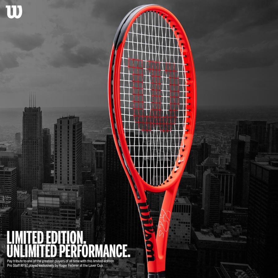 豪奢な ウイルソン Wilson 硬式テニスラケット PRO プロスタッフ WR001111S 97RF オートグラフ レーバーカップ ロジャー・フェデラー CUP PRO STAFF RF97 Autograph LAVER CUP WR001111S, オクタママチ:89deb944 --- airmodconsu.dominiotemporario.com