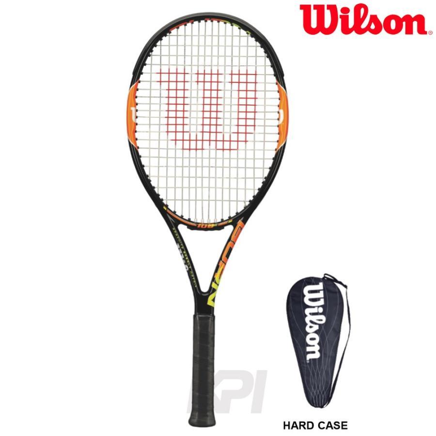 硬式テニスラケット ウイルソン Wilson BURN 100TEAM バーン100チーム WRT725810 スマートテニスセンサー対応 KPI