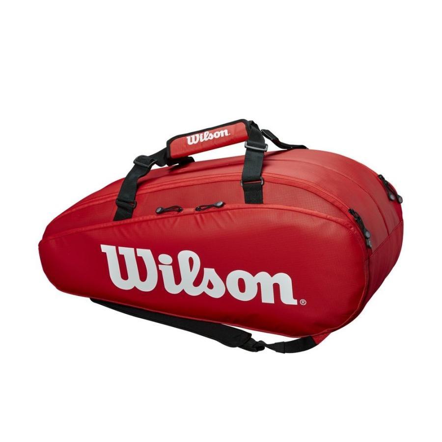 ウイルソン Wilson テニスバッグ・ケース TOUR 2 COMP 赤 LARGE WRZ848909