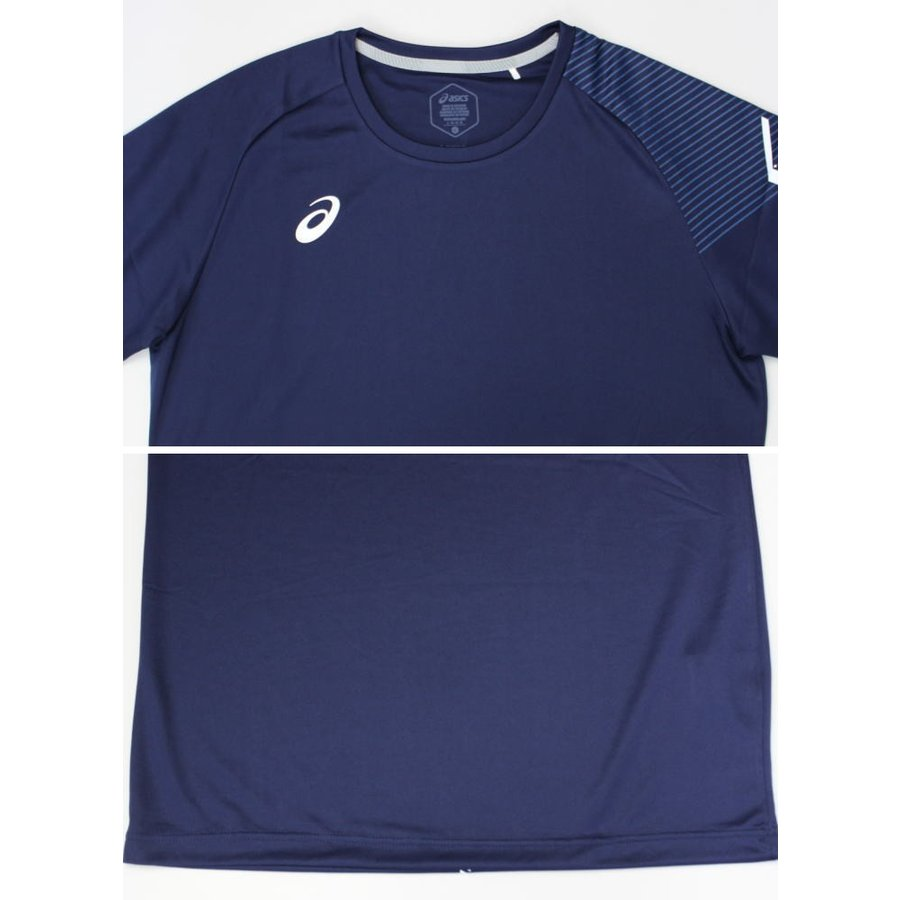 アシックス ジャージ 上下 メンズ トレーニングウェア リモ ランニング Tシャツ 半袖 + ハーフ 2031B203 2031B208 3カラー 吸汗速乾 上下セット|sportsjima|15