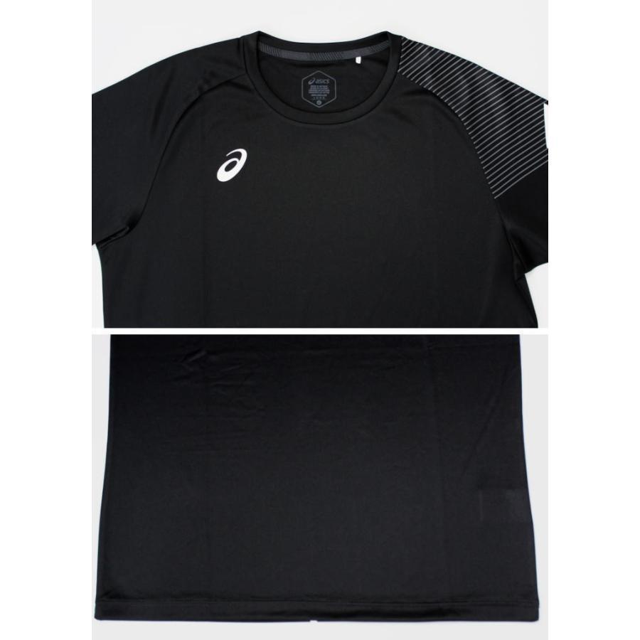 アシックス ジャージ 上下 メンズ トレーニングウェア リモ ランニング Tシャツ 半袖 + ハーフ 2031B203 2031B208 3カラー 吸汗速乾 上下セット|sportsjima|05