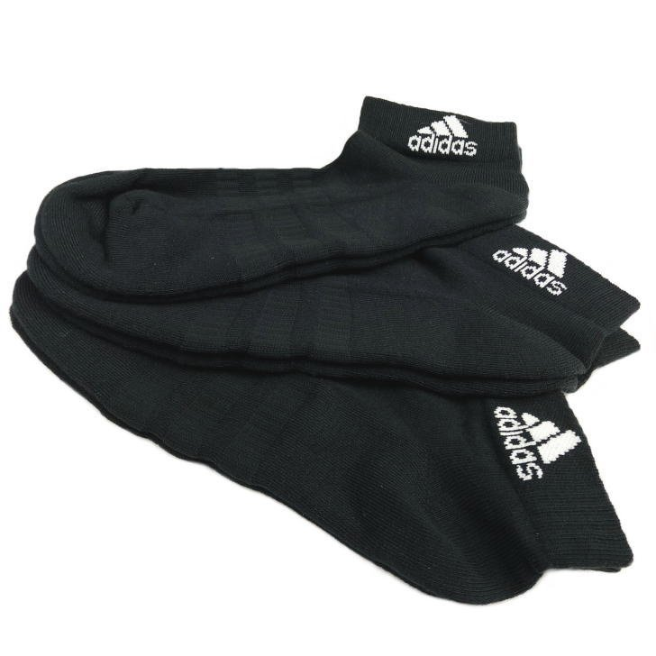 アディダス ソックス メンズ レディース ジュニア 3足組 FXI63 3カラー 靴下 スニーカーソックス ショートソックス adidas ゆうパケット対応|sportsjima|03