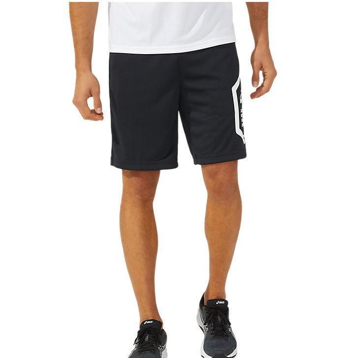 アシックス ジャージ パンツ メンズ トレーニングウェア ハーフパンツ 2031C263 2カラー 吸汗速乾 ストレッチ ズボン 半ズボン|sportsjima|04