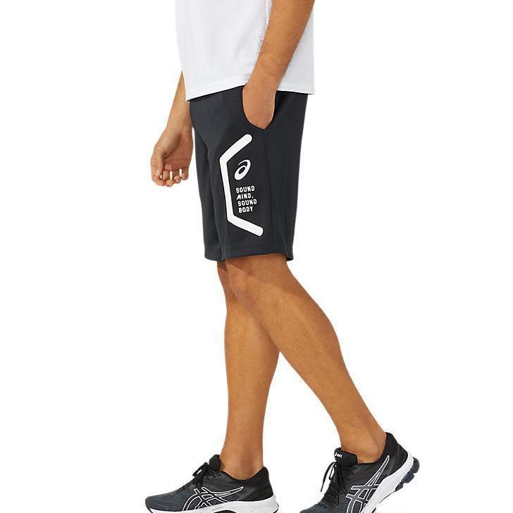 アシックス ジャージ パンツ メンズ トレーニングウェア ハーフパンツ 2031C263 2カラー 吸汗速乾 ストレッチ ズボン 半ズボン|sportsjima|06