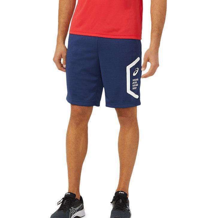 アシックス ジャージ パンツ メンズ トレーニングウェア ハーフパンツ 2031C263 2カラー 吸汗速乾 ストレッチ ズボン 半ズボン|sportsjima|09