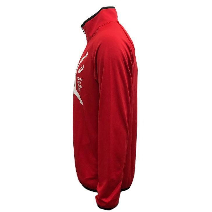 アシックス ジャージ ジャケット メンズ トレーニングウェア 2031C261 5カラー 吸汗速乾 上着 ベーシック アウター ランニング スポーツウェア sportsjima 15