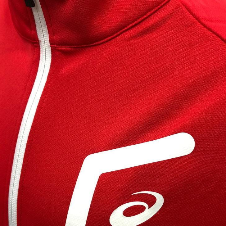 アシックス ジャージ ジャケット メンズ トレーニングウェア 2031C261 5カラー 吸汗速乾 上着 ベーシック アウター ランニング スポーツウェア sportsjima 17