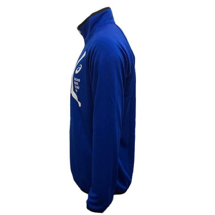 アシックス ジャージ ジャケット メンズ トレーニングウェア 2031C261 5カラー 吸汗速乾 上着 ベーシック アウター ランニング スポーツウェア sportsjima 10