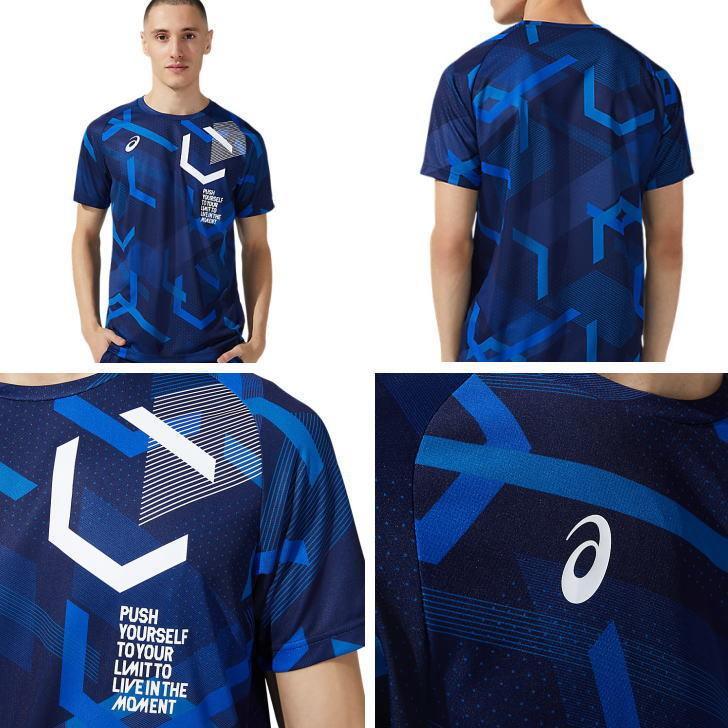 アシックス ジャージ 上下 メンズ トレーニングウェア ランニング LIMO リモ Tシャツ 半袖 + ハーフ 2031C199 2031C191 2カラー 吸汗速乾 上下セット|sportsjima|05