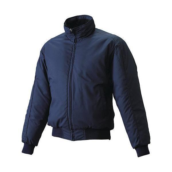 エスエスケイ グラウンドコート フロントフルZIP(中綿) SSK-BWG1006 (70)ネイビー