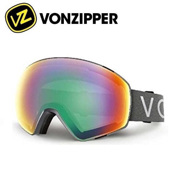 VON ZIPPER ボンジッパー ゴーグル JETPACK METALLIC PLATINUM/TRU-DEF Japan-Fit 15/16 スノーボード