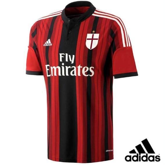 レプリカシャツ ACミラン 半袖レプリカジャージー ホーム adidas アディダス サッカーウェア