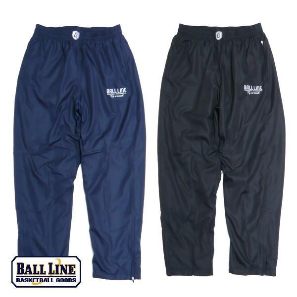 BALL LINE−ボールライン 裏起毛ウインドパンツ/ウォーマーパンツ ON THE COURT−オンザコート バスケットウェア