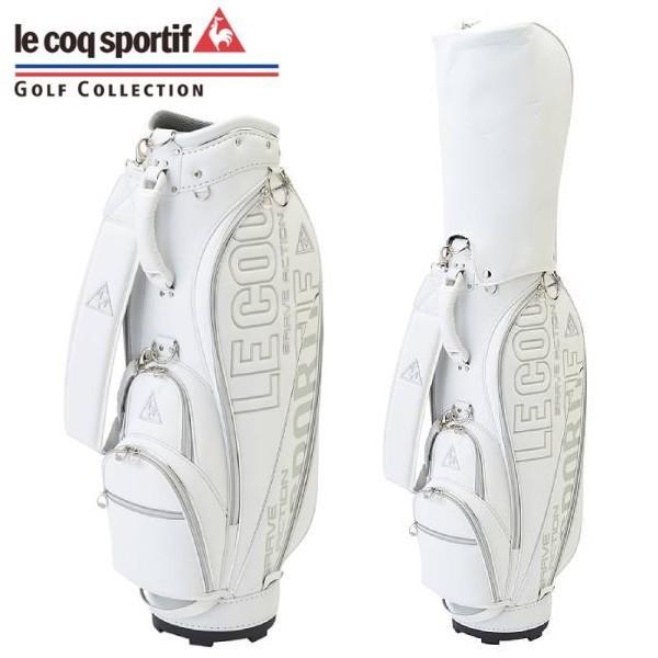le coq sportif-ルコックスポルティフ レディース キャディバッグ ネーム文字彫り無料 キャディーバッグ/ゴルフバッグ