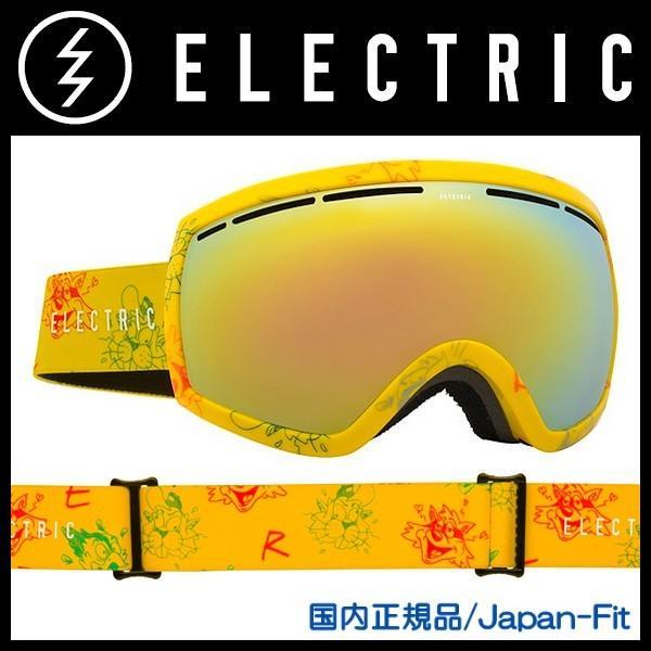 出産祝い 日本正規品・Japan-Fit EG2 CARTOON YELLOW Grey/Gold Chrome ケース付き ELECTRIC-エレクトリック 15/16 スノーボード用品/ゴーグル, アクセサリー lamica migliore:1f79caaf --- airmodconsu.dominiotemporario.com