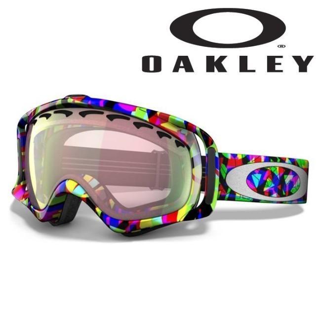 CROWBAR-クローバー JP Auclair Alpine Intiative/VR50 ピンク Iridium OAKLEY-オークリー 10/11 スノーボード/ゴーグル